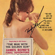Playboy Magazine Poster Signed Poster