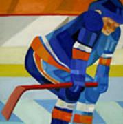 Player 1 Poster by Ken Yackel