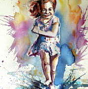 Playing Girl Poster