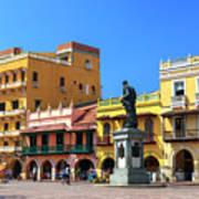 Plaza De Los Coches Poster