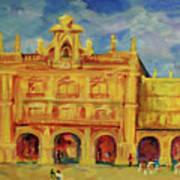 Plaza Mayor Salamanca Poster
