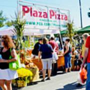 Plaza Pizza Poster