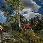 Pliocene - Pleistocene mural 2 Poster