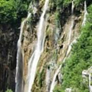 Plitvice Croatia Waterfalls 2 Poster