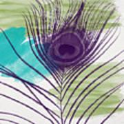 Plumage 2-art By Linda Woods Poster