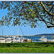 Plymouth Harbor Poster