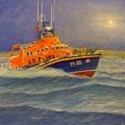 Plymouth Lifeboat Poster