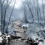 Pocono Mountain Winter Poster