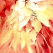 Poinsettias Poster by Joan  Jones