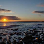 Point Allerton Sunrise - Nantasket Island Poster
