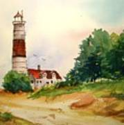 Point Betsie Lighthouse Michigan Poster