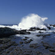 Point Lobos Seascape 2 Poster by Stan and Anne Foster