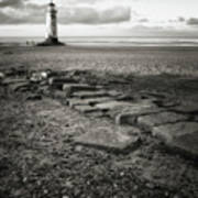 Point Of Ayre Lighthouse Poster