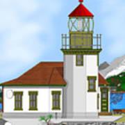 Point Robinson On Vashon Island Poster
