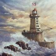Point St. George Reef Lighthouse Poster