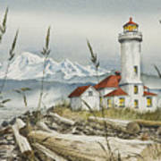 Point Wilson Lighthouse Poster