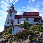 Pointe Au Baril Lighthouse Poster