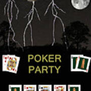 Poker Party  Poker Cards Poster