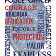 Police Inspirational 1 Poster