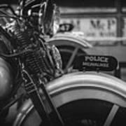 Police Milwaukee Poster