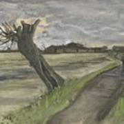 Pollard Willow The Hague July 1882 Vincent Van Gogh 1853  1890 Poster