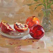 Pomegranates Poster