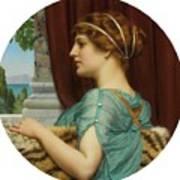 Pompeian Lady Poster