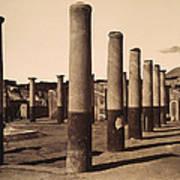 Pompeii, Excavation Poster