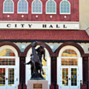 Ponca City City Hall Poster
