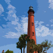 Ponce Inlet Light Poster