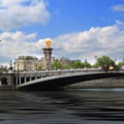 Pont Alexandre IIi Poster
