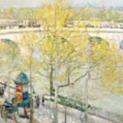 Pont Royal Paris Poster