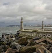Ponta Da Praia Poster