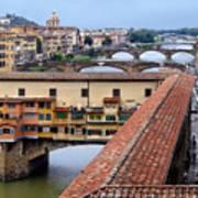 Ponte Vecchio From Uffizi                Poster
