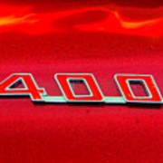 Pontiac Firebird 296 Poster