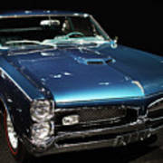 Pontiac Gto 2 Poster by Wingsdomain Art and Photography