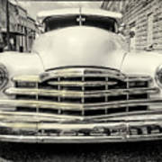 Pontiac Torpedo In Black And White Poster