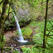 Ponytail Falls, Oregon Poster