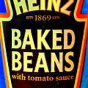 Pop Art Beanz Poster