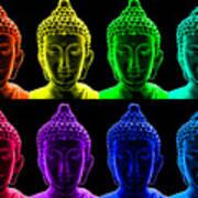 Pop Art Buddha  Poster by Fabrizio Troiani