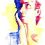 Pop Art Woman Portrait Poster