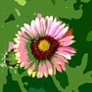 Pop Flower Work Number 23 Poster