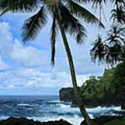 Poponi Ulaino Mokupupu Maui North Shore Hawaii Poster