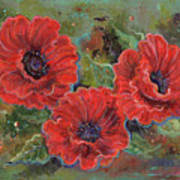 Poppy Splendor Poster
