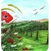 Poppy Tryptic Poster