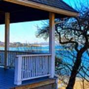 Porch View In Annisquam Poster