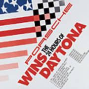 Porsche 24 Hours Of Daytona Wins Poster