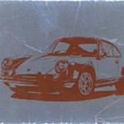 Porsche 911 Poster by Naxart Studio