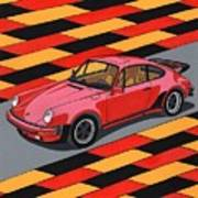 Porsche 911 Turbo Poster