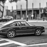 Porsche 911e Poster